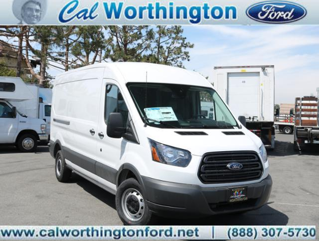2018 Transit 250 Med Roof 4x2,  Empty Cargo Van #J2256 - photo 1