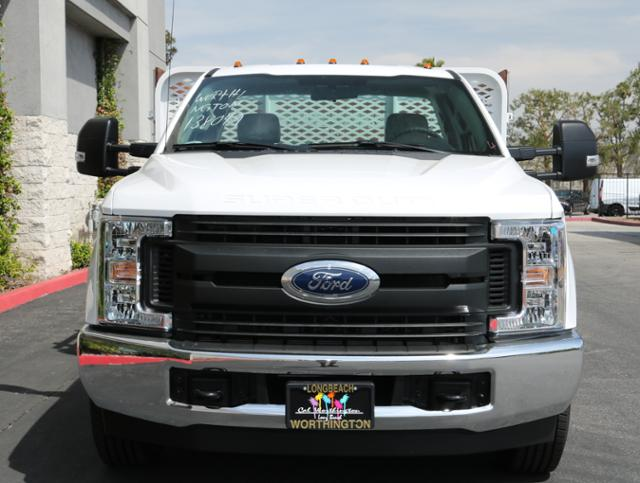 2018 F-350 Regular Cab DRW, Scelzi Western Flatbed Stake Bed #J2285 - photo 4