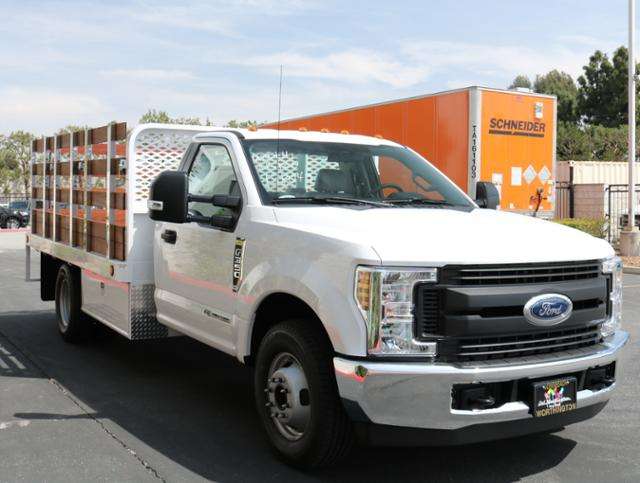 2018 F-350 Regular Cab DRW, Scelzi Western Flatbed Stake Bed #J2285 - photo 5