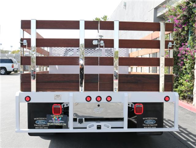 2018 F-350 Regular Cab DRW, Scelzi Western Flatbed Stake Bed #J2285 - photo 8