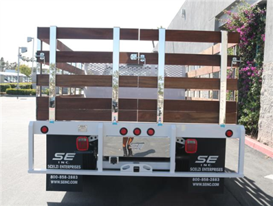 2018 F-350 Regular Cab DRW, Scelzi Western Flatbed Stake Bed #J2303 - photo 8