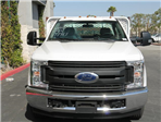 2018 F-350 Regular Cab DRW, Scelzi Western Flatbed Stake Bed #J2303 - photo 4