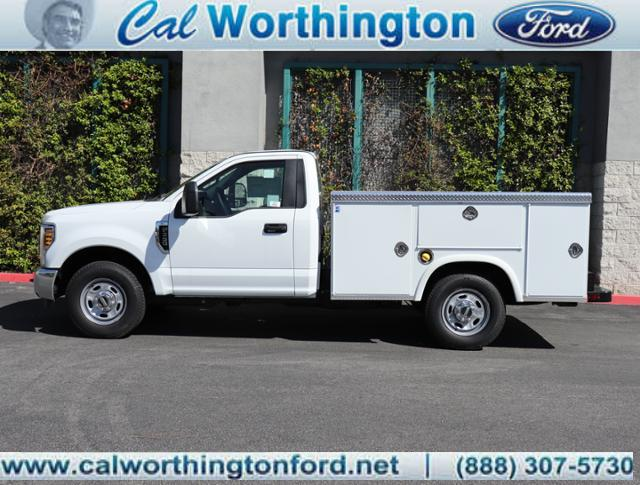 Cal Worthington Ford >> 2019 F 350 Regular Cab 4x2 Royal Service Body Stock K2317 For Sale At Cal Worthington Ford In Long Beach Ca
