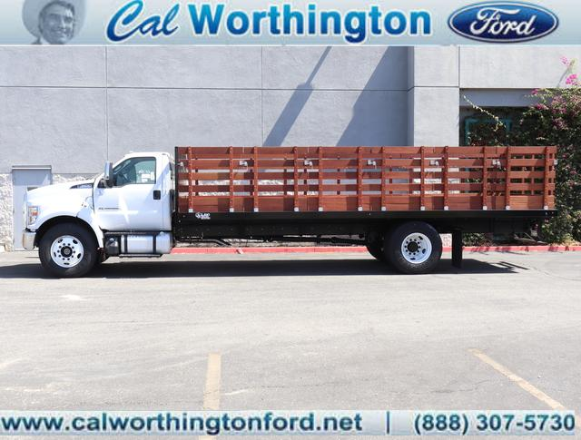 2019 Ford F-650 Regular Cab DRW 4x2, Guardian Manufacturing Inc Stake Bed #K2638 - photo 1