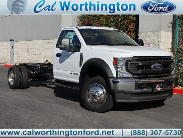 2020 Ford F-550 Regular Cab DRW 4x2, Cab Chassis #L2387 - photo 1