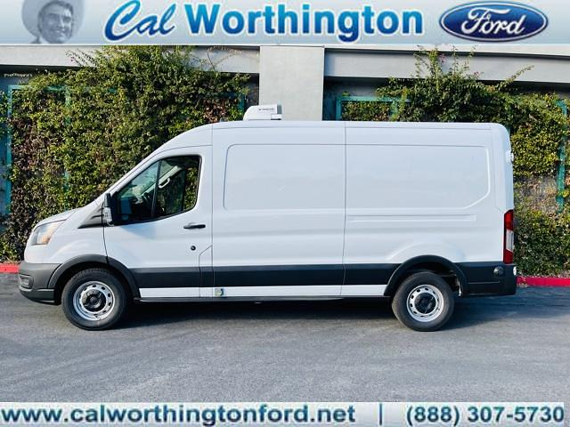 2020 Ford Transit 250 Med Roof 4x2, Thermo King Refrigerated Body #L2488 - photo 1