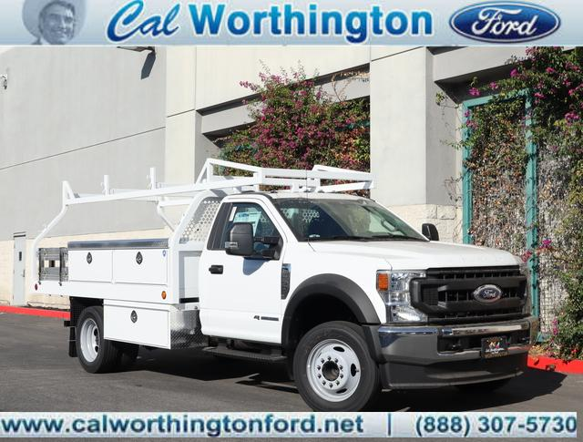 2020 Ford F-550 Regular Cab DRW 4x2, Royal Truck Body Contractor Body #L2546 - photo 1