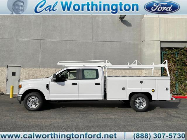 2020 Ford F-350 Crew Cab 4x2, Scelzi Service Body #L2585 - photo 1