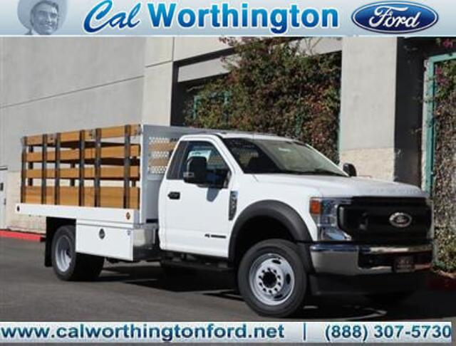 2020 Ford F-550 Regular Cab DRW 4x2, Royal Stake Bed #L2606 - photo 1