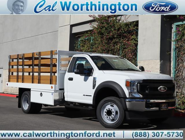 2020 Ford F-550 Regular Cab DRW 4x2, Royal Stake Bed #L2627 - photo 1