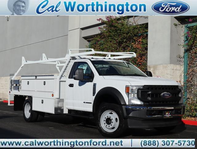 2020 Ford F-550 Regular Cab DRW 4x2, Scelzi Contractor Body #L2636 - photo 1