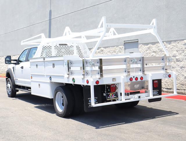 2021 Ford F-550 Crew Cab DRW 4x2, Scelzi Contractor Body #M2400 - photo 1