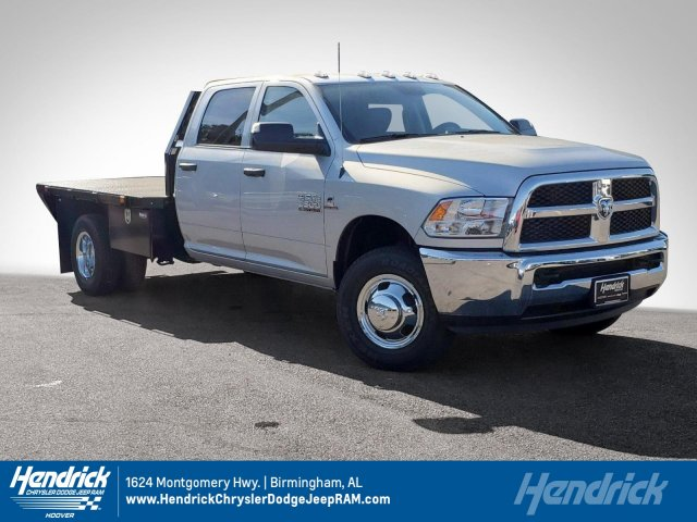 2018 Ram 3500 Crew Cab DRW 4x4,  Platform Body #JG394773 - photo 1
