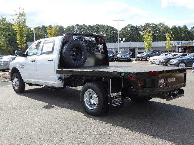 2017 Ram 3500 Crew Cab DRW, Platform Body #M21361 - photo 4
