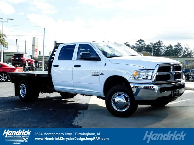 2018 Ram 3500 Crew Cab DRW 4x4,  Commercial Truck & Van Equipment CTVE Goosenecks Platform Body #M30233 - photo 1