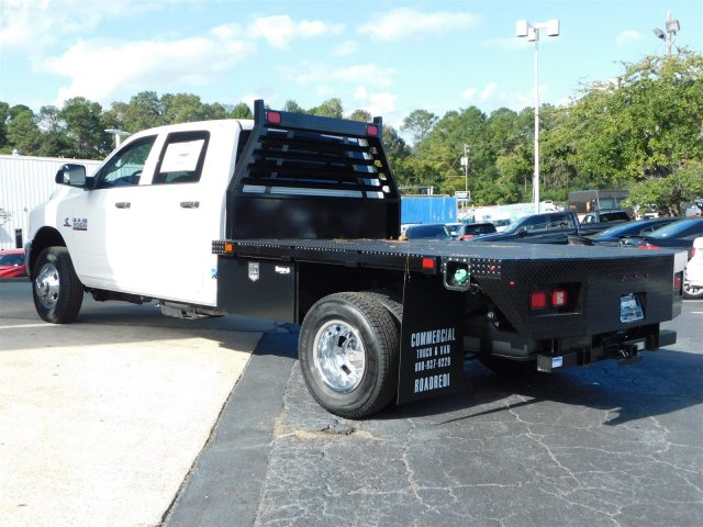 2018 Ram 3500 Crew Cab DRW 4x4,  Commercial Truck & Van Equipment CTVE Goosenecks Platform Body #M30233 - photo 6