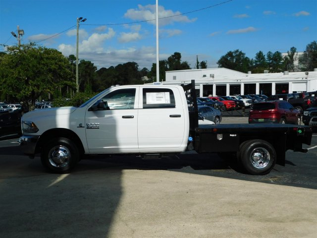 2018 Ram 3500 Crew Cab DRW 4x4,  Commercial Truck & Van Equipment CTVE Goosenecks Platform Body #M30233 - photo 7