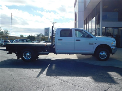 2018 Ram 3500 Crew Cab DRW 4x4,  Commercial Truck & Van Equipment CTVE Goosenecks Platform Body #M30233 - photo 4