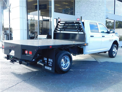 2018 Ram 3500 Crew Cab DRW 4x4,  Commercial Truck & Van Equipment CTVE Goosenecks Platform Body #M30233 - photo 2