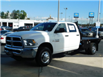 2018 Ram 3500 Crew Cab DRW 4x4,  Commercial Truck & Van Equipment CTVE Goosenecks Platform Body #M30233 - photo 8