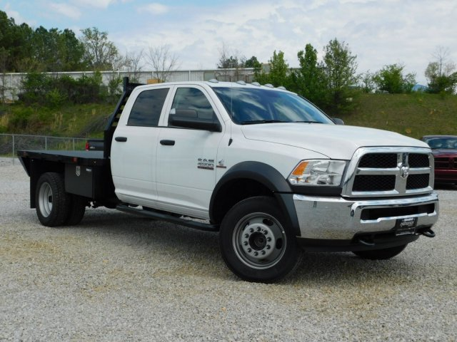 2018 Ram 4500 Crew Cab DRW 4x4,  Commercial Truck & Van Equipment Platform Body #M30562 - photo 5