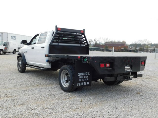 2018 Ram 4500 Crew Cab DRW 4x4,  Commercial Truck & Van Equipment Platform Body #M30562 - photo 6