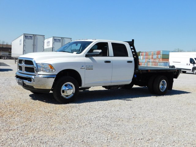 2018 Ram 3500 Crew Cab DRW 4x2,  Commercial Truck & Van Equipment Platform Body #M30581 - photo 8