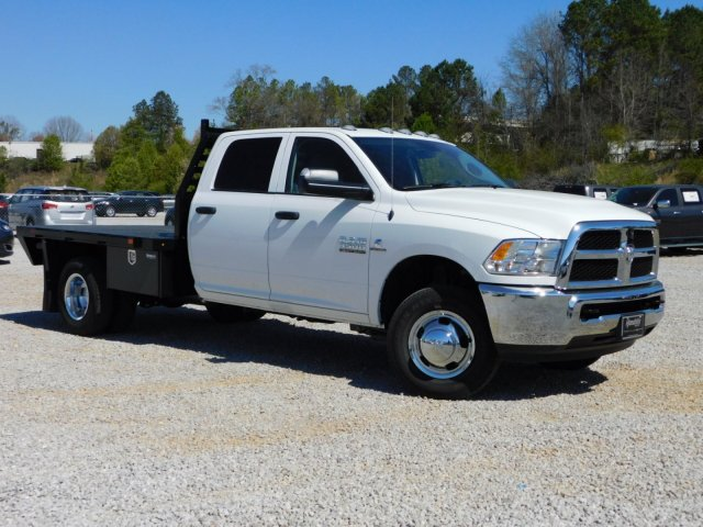 2018 Ram 3500 Crew Cab DRW 4x2,  Commercial Truck & Van Equipment Platform Body #M30581 - photo 3