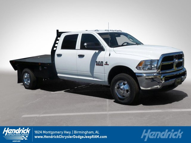 2018 Ram 3500 Crew Cab DRW, Platform Body #M30582 - photo 1
