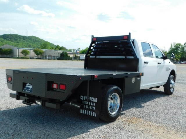2018 Ram 3500 Crew Cab DRW 4x4,  Commercial Truck & Van Equipment Platform Body #M30790 - photo 2