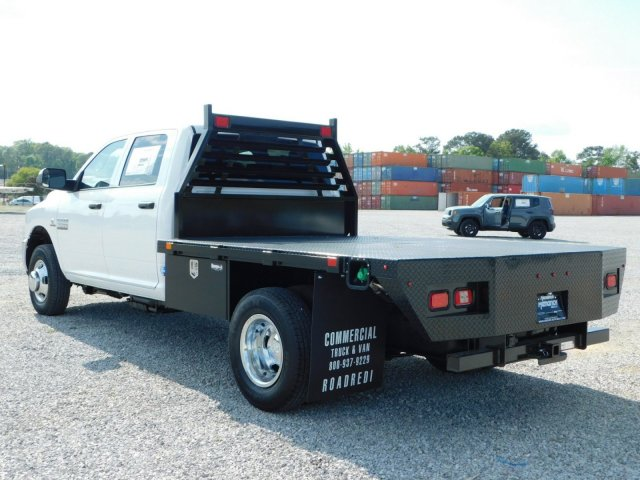 2018 Ram 3500 Crew Cab DRW 4x4,  Commercial Truck & Van Equipment Platform Body #M30790 - photo 5