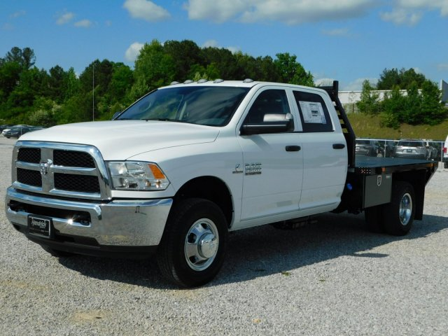 2018 Ram 3500 Crew Cab DRW 4x4,  Commercial Truck & Van Equipment Platform Body #M30790 - photo 7