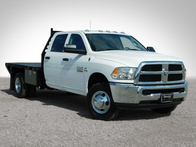 2018 Ram 3500 Crew Cab DRW 4x4,  Commercial Truck & Van Equipment Platform Body #M30790 - photo 32