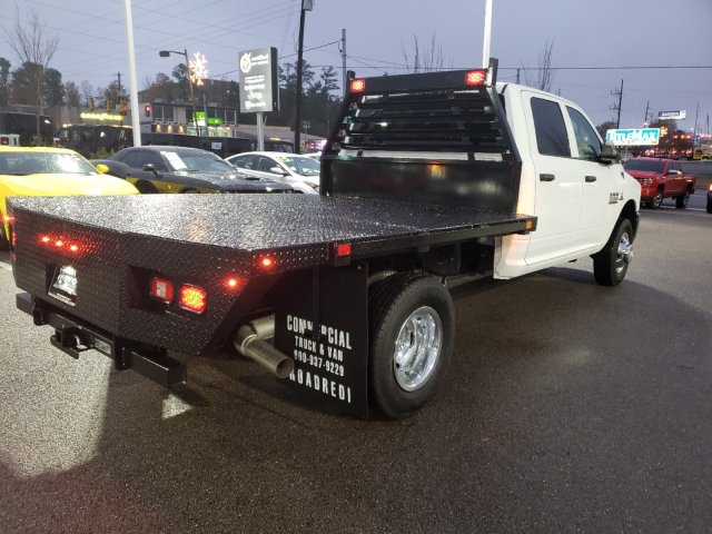 2018 Ram 3500 Crew Cab DRW 4x2,  Commercial Truck & Van Equipment Platform Body #M31436 - photo 3