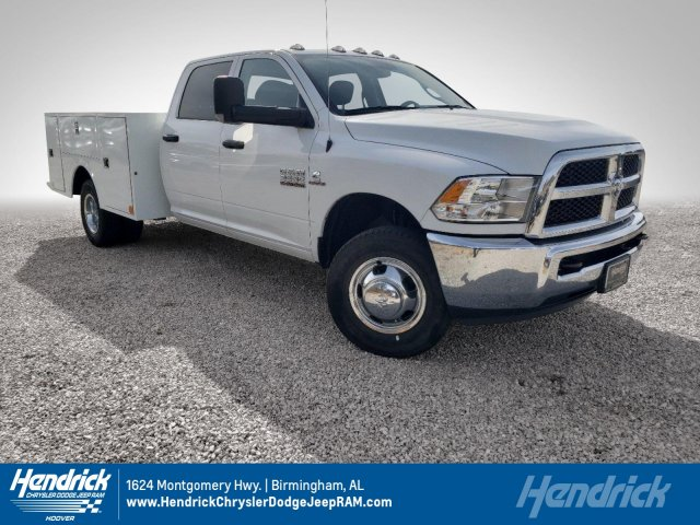 2018 Ram 3500 Crew Cab DRW 4x2,  Warner Service Body #M31461 - photo 1