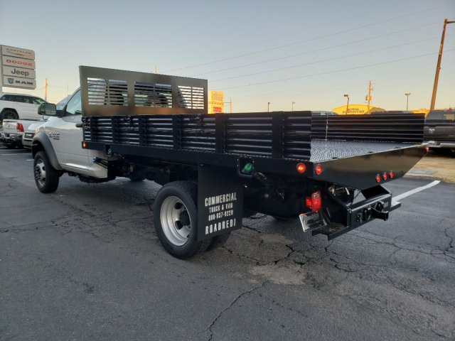 2018 Ram 4500 Regular Cab DRW 4x2,  Commercial Truck & Van Equipment Platform Body Stake Bed #M31483 - photo 5