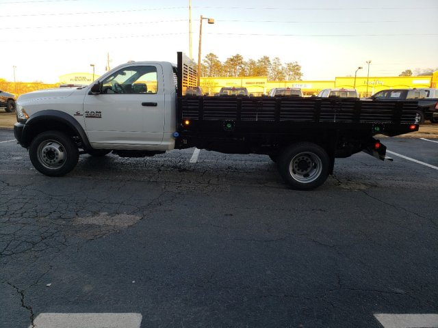 2018 Ram 4500 Regular Cab DRW 4x2,  Commercial Truck & Van Equipment Platform Body Stake Bed #M31483 - photo 6