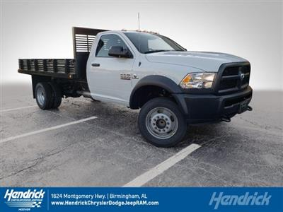 2018 Ram 4500 Regular Cab DRW 4x2,  Commercial Truck & Van Equipment Platform Body Stake Bed #M31483 - photo 1