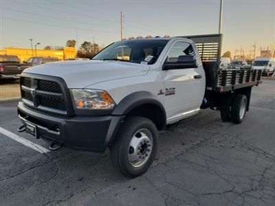2018 Ram 4500 Regular Cab DRW 4x2,  Commercial Truck & Van Equipment Platform Body Stake Bed #M31483 - photo 7
