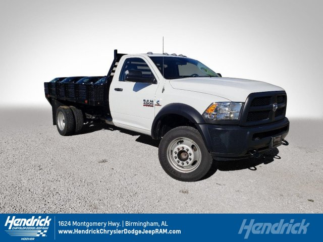2018 Ram 4500 Regular Cab DRW 4x4,  Commercial Truck & Van Equipment Platform Body #M31484 - photo 1