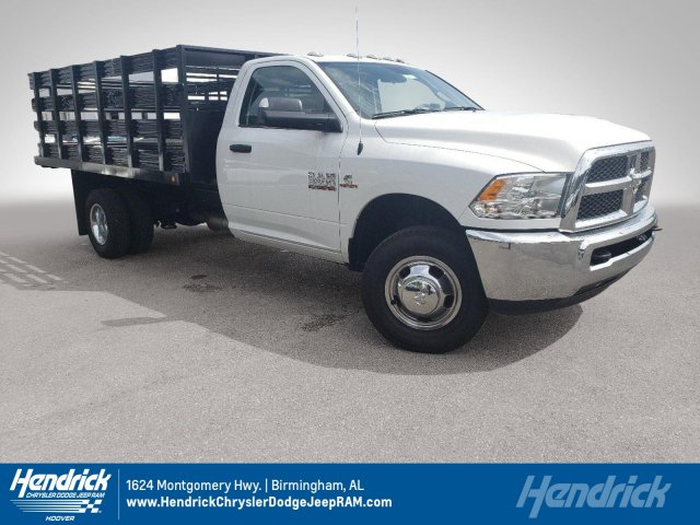 2018 Ram 3500 Regular Cab DRW 4x2,  Commercial Truck & Van Equipment Stake Bed #M31536 - photo 1