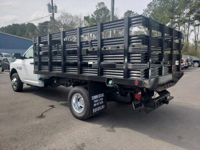 2018 Ram 3500 Regular Cab DRW 4x2,  Commercial Truck & Van Equipment Stake Bed #M31536 - photo 5