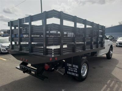 2018 Ram 3500 Regular Cab DRW 4x2,  Commercial Truck & Van Equipment Stake Bed #M31536 - photo 2