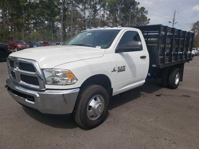 2018 Ram 3500 Regular Cab DRW 4x2,  Commercial Truck & Van Equipment Stake Bed #M31536 - photo 7