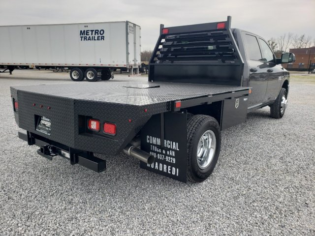 2018 Ram 3500 Crew Cab DRW 4x4,  Commercial Truck & Van Equipment Platform Body #M31563 - photo 1