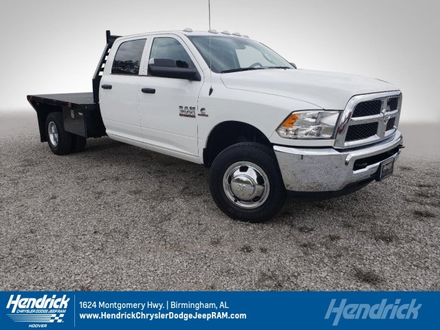 2018 Ram 3500 Crew Cab DRW 4x2,  Commercial Truck & Van Equipment Platform Body #M31564 - photo 1