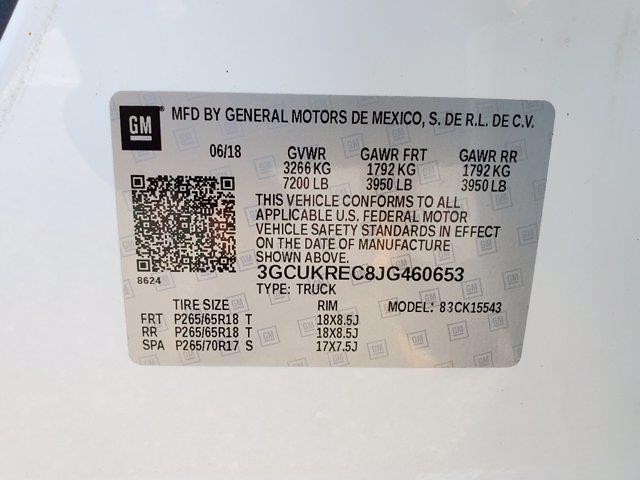 2018 Chevrolet Silverado 1500 Crew Cab 4x4, Pickup #M62816A - photo 36