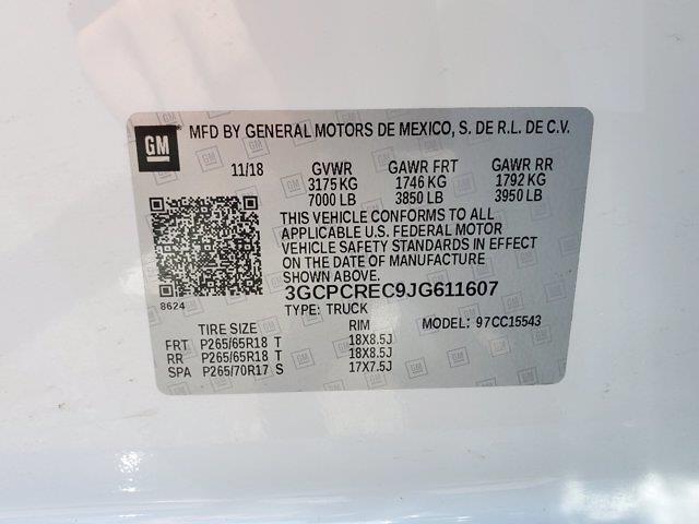 2018 Chevrolet Silverado 1500 Crew Cab 4x2, Pickup #XH20777A - photo 35