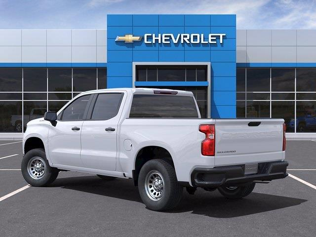 2021 Chevrolet Silverado 1500 Crew Cab 4x2, Pickup #CM22048 - photo 4