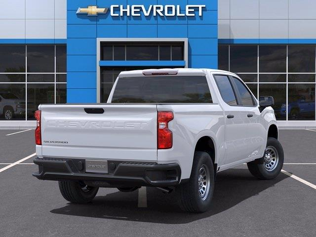 2021 Chevrolet Silverado 1500 Crew Cab 4x2, Pickup #CM22048 - photo 2